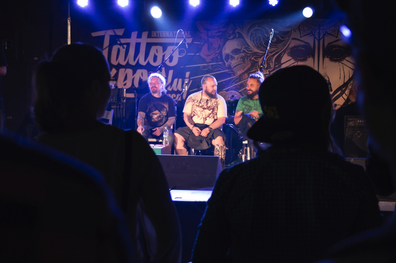The jury of Tattoo Expo.