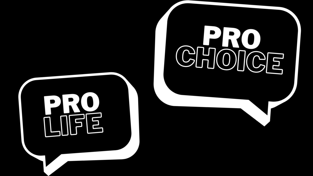 pro-choice versus pro-life